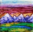 Rockies Sunset