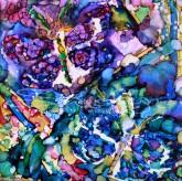 psychedelic butterflies